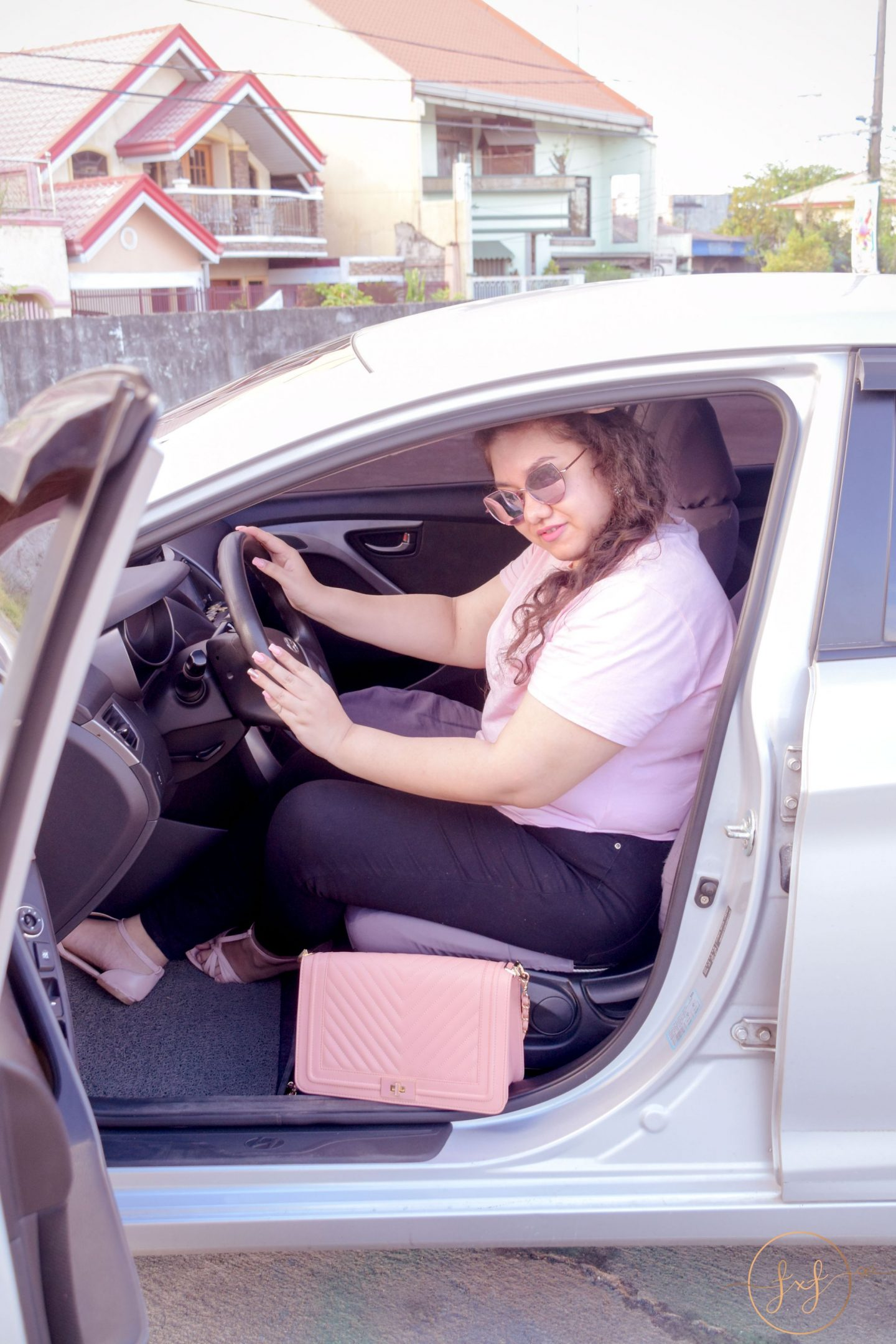 a personal lifestyle post sharing my personal anxiety with driving fashionxfairytale