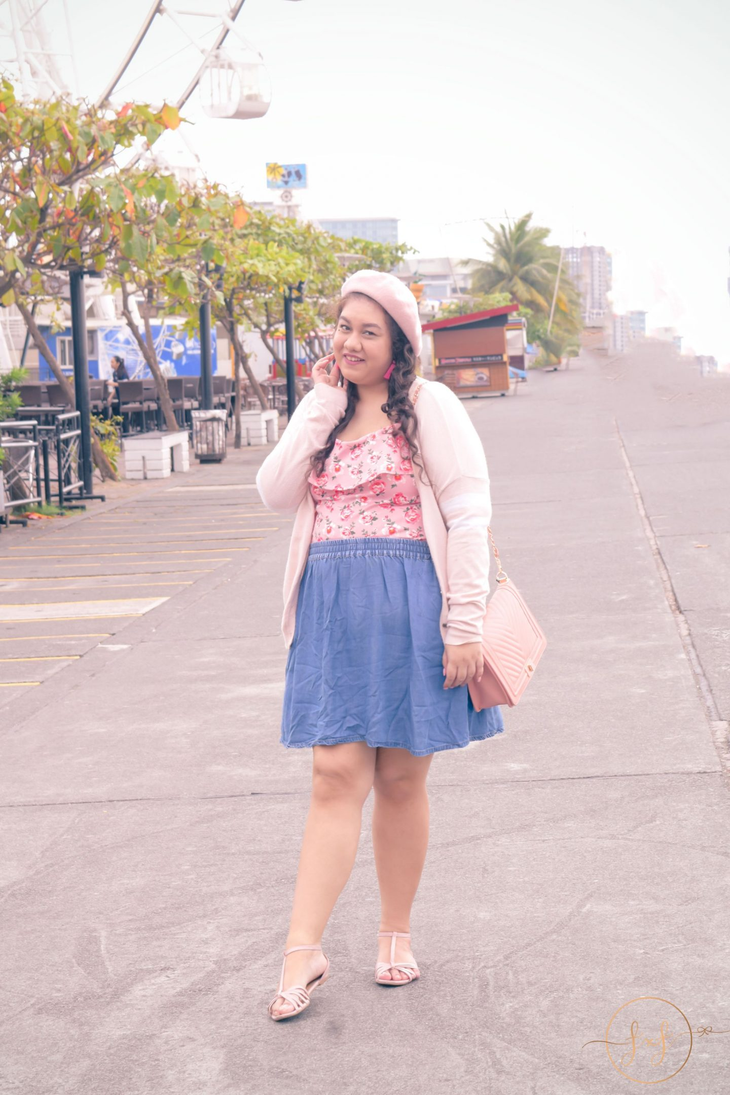 Styling a Curvy Outfit From Spring to Summer