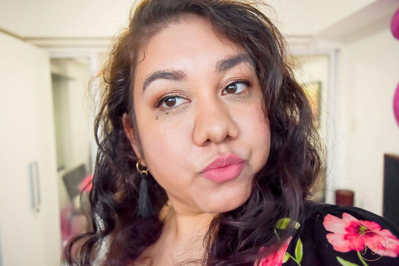 Neutral Glam Birthday Makeup Look