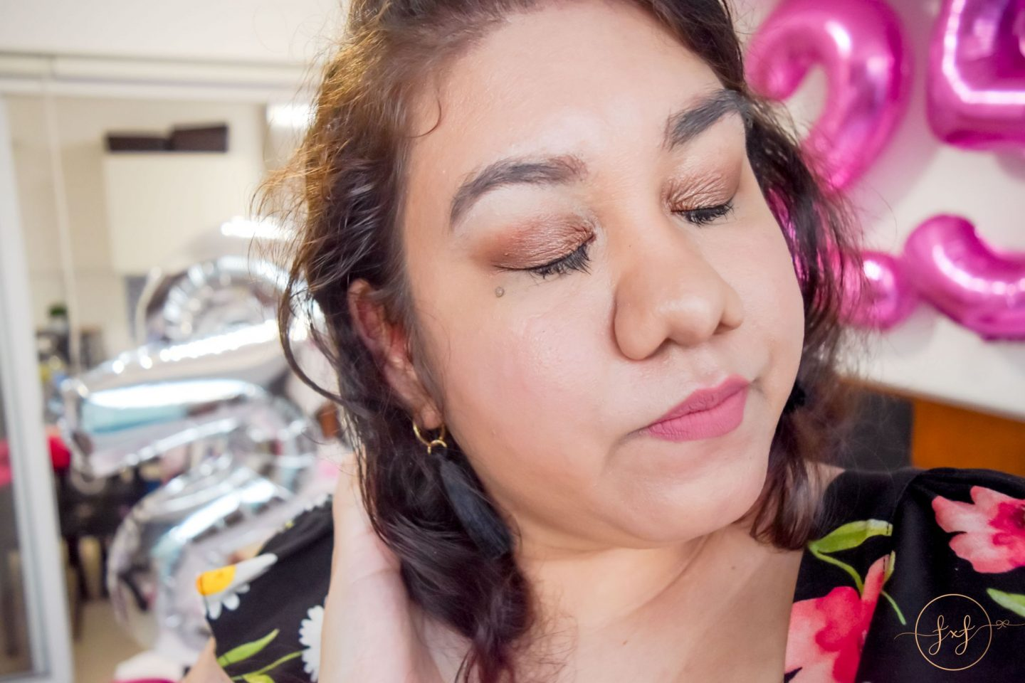 Neutral Glam Birthday Makeup Look