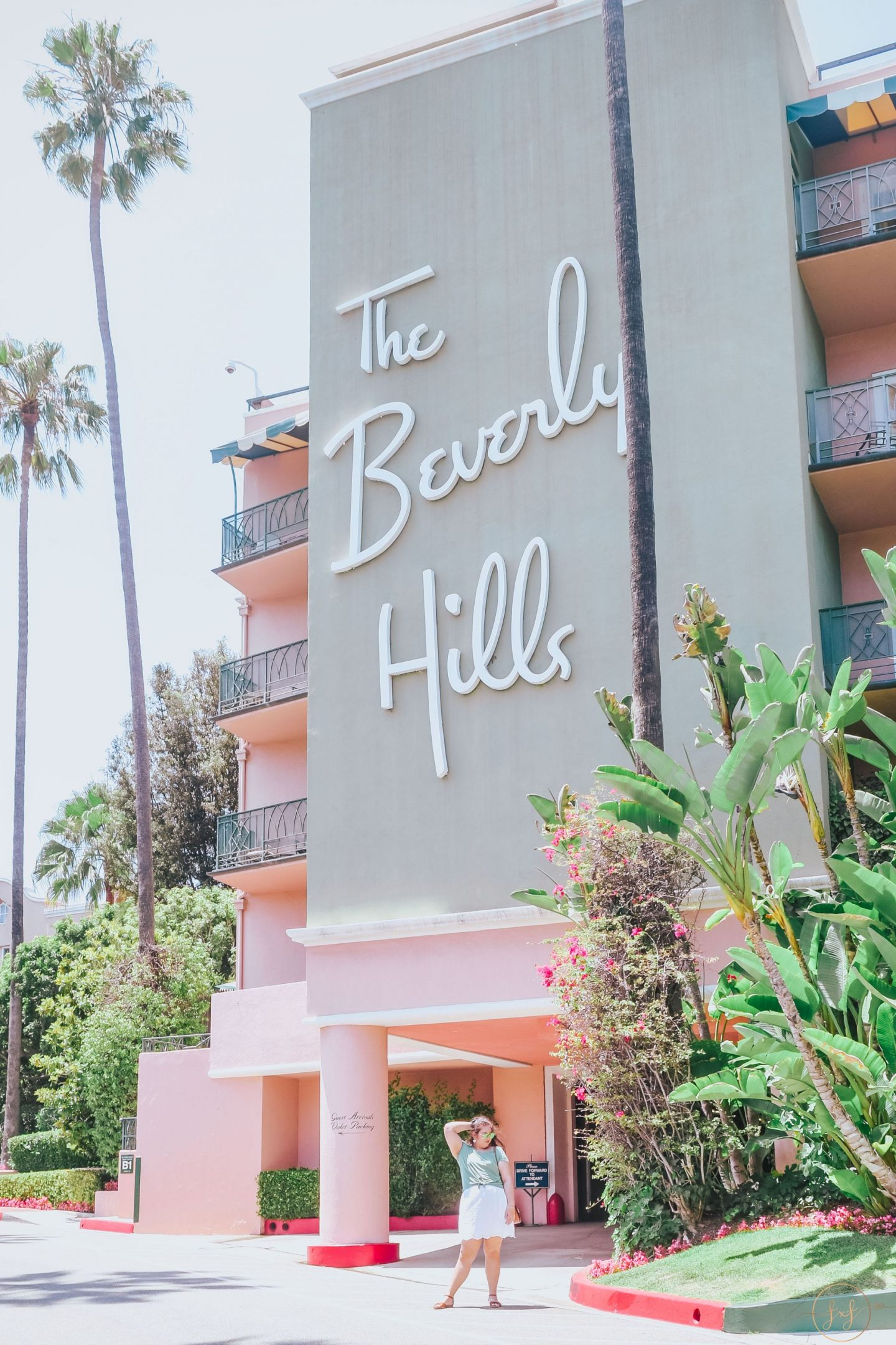 Matching My Outfit With The Beverly Hills Hotel