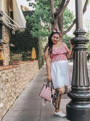 Pink At The Grove | What I Wore
