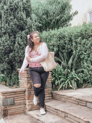 The Perfect Blush Pink Sweater For Fall
