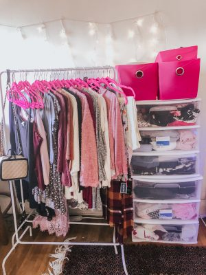 How I Organize My Clothes and Wardrobe Tour