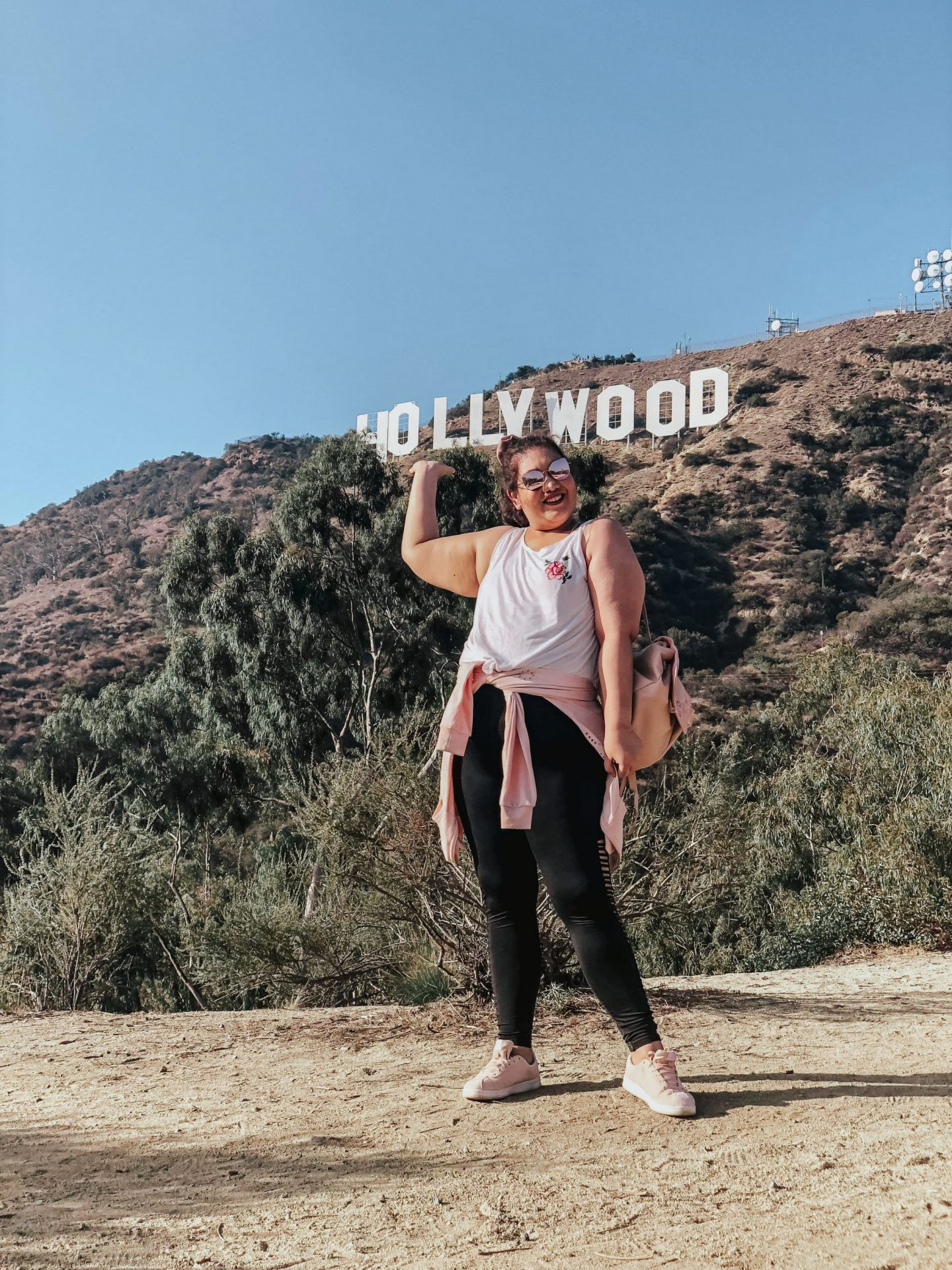 The Outfit I Wore to Hike to the Hollywood Sign