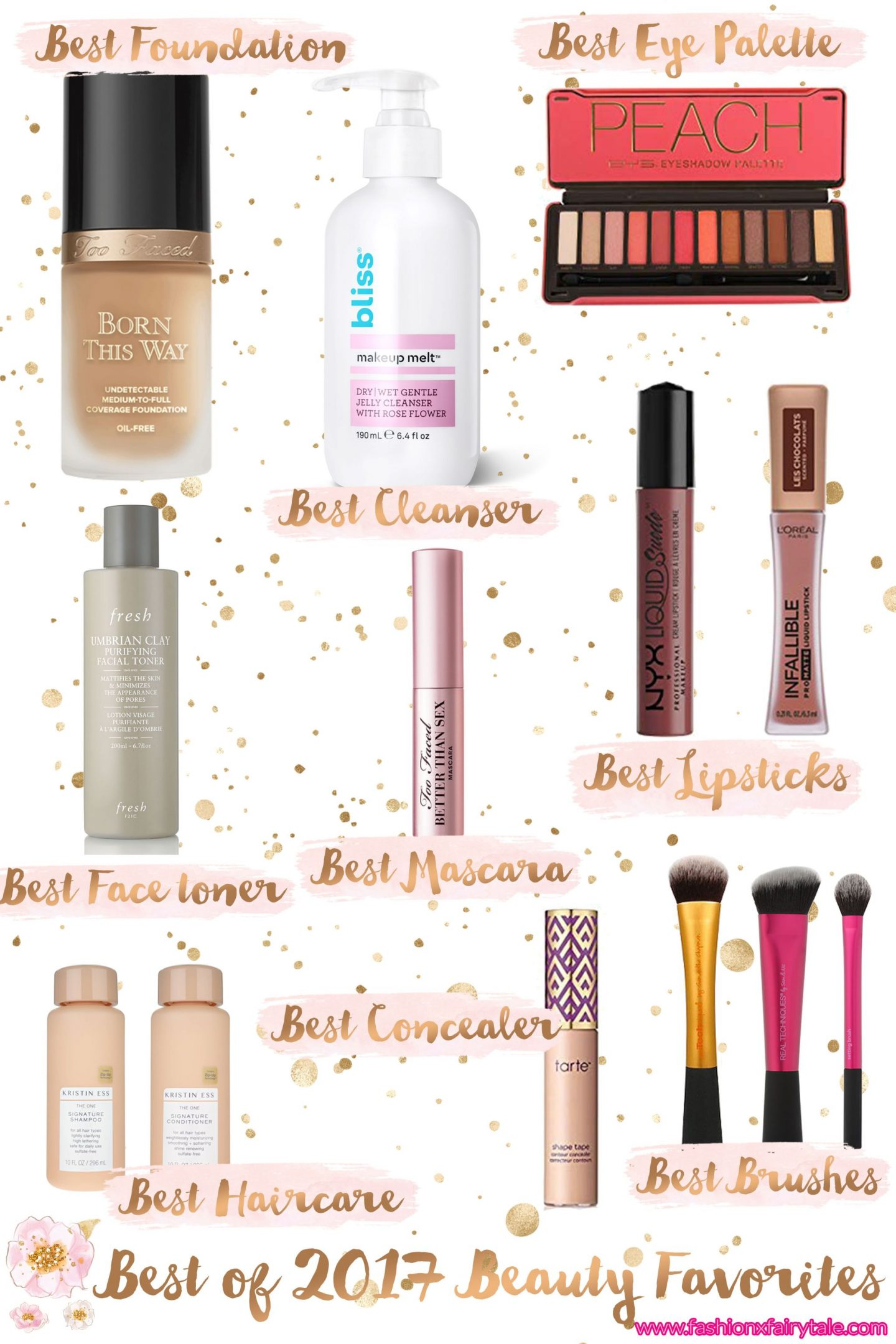 My Best Beauty Favorites of 2018