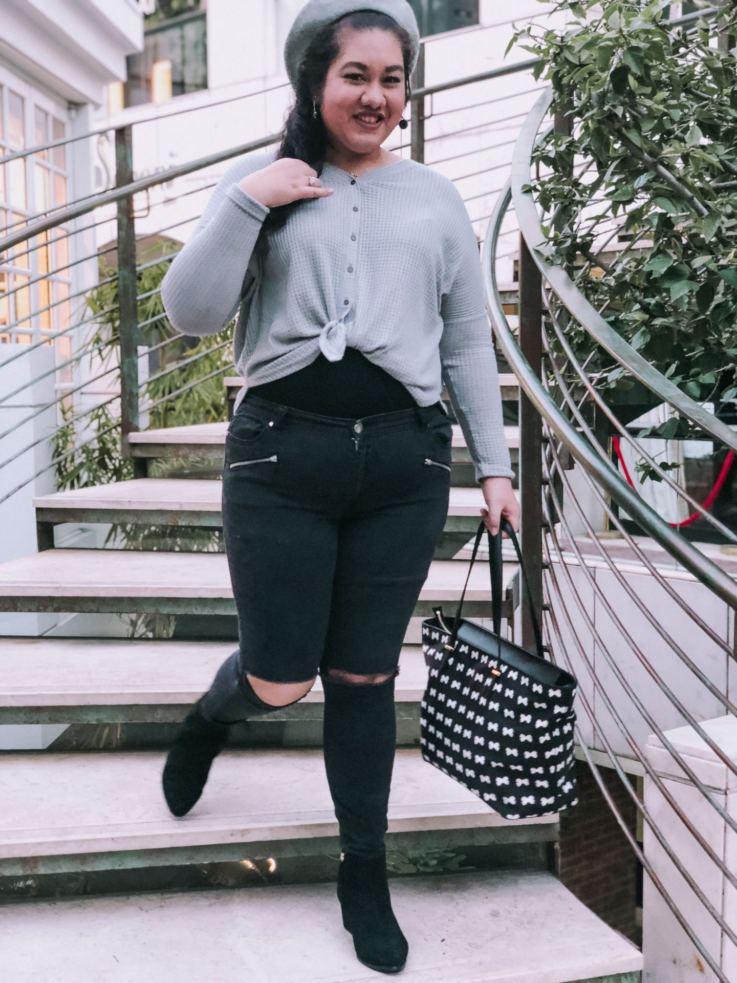 Two Ways I Style A Henley Tee