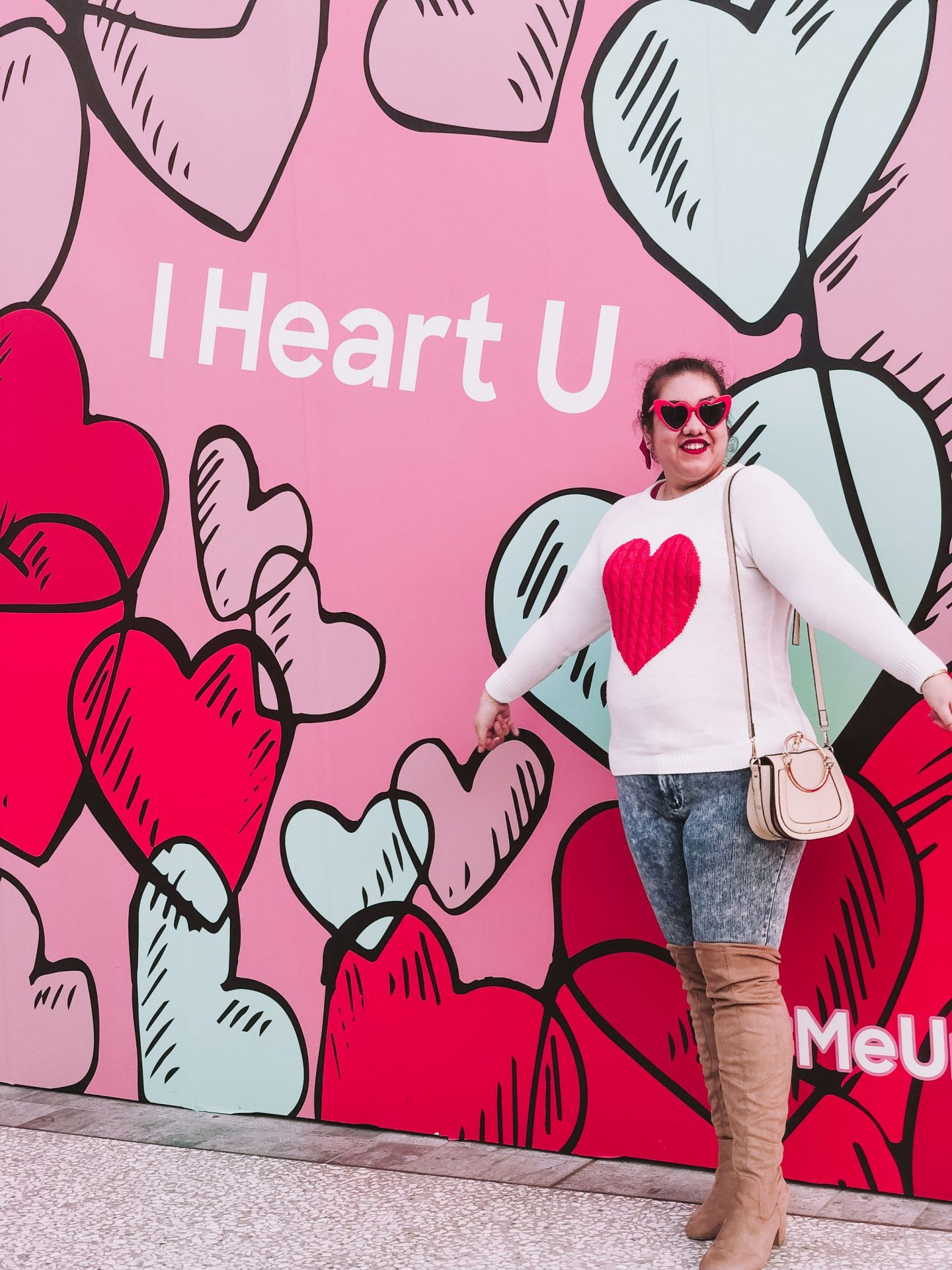 The Perfect Heart Sweater For Valentine's Day