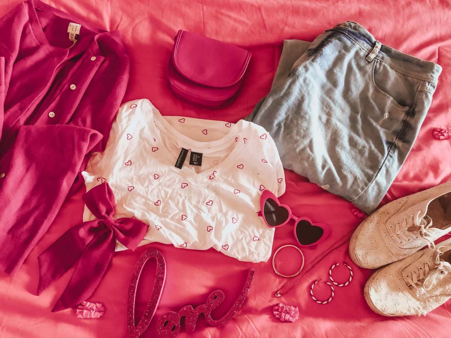 Four Valentine's Day Outfit Ideas