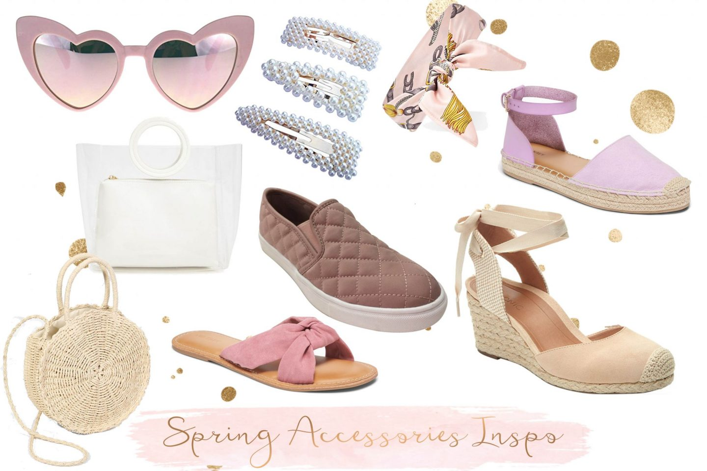 Spring Wardrobe Wish List Essentials