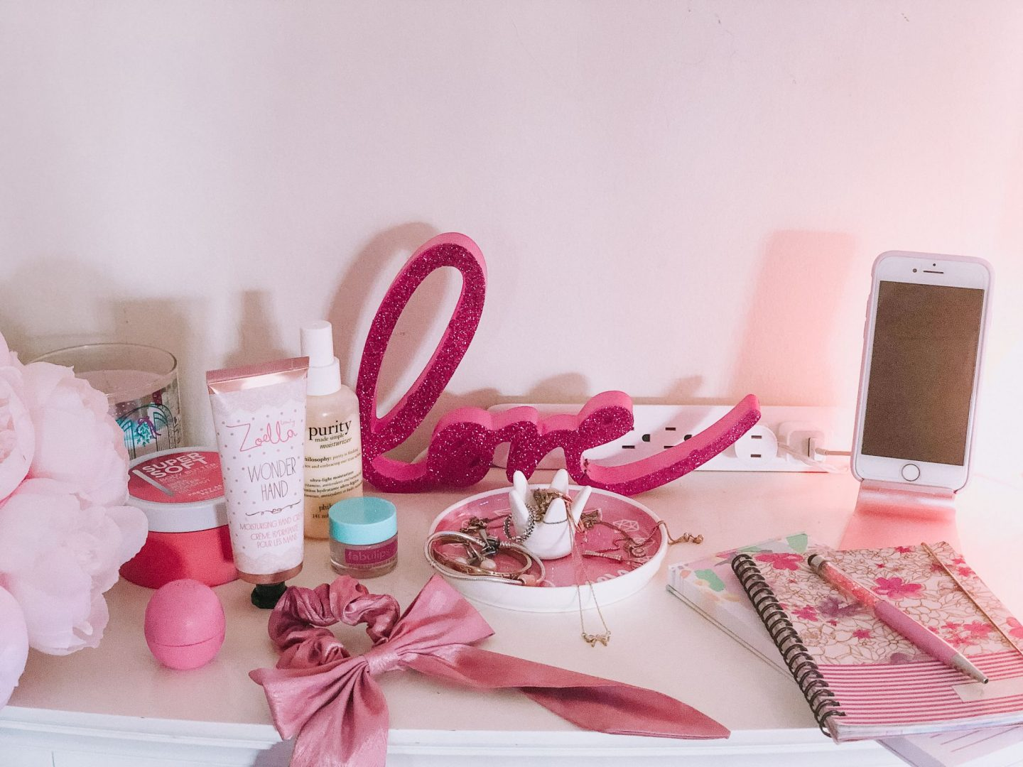 My Bedside Table Must Have Essentials
