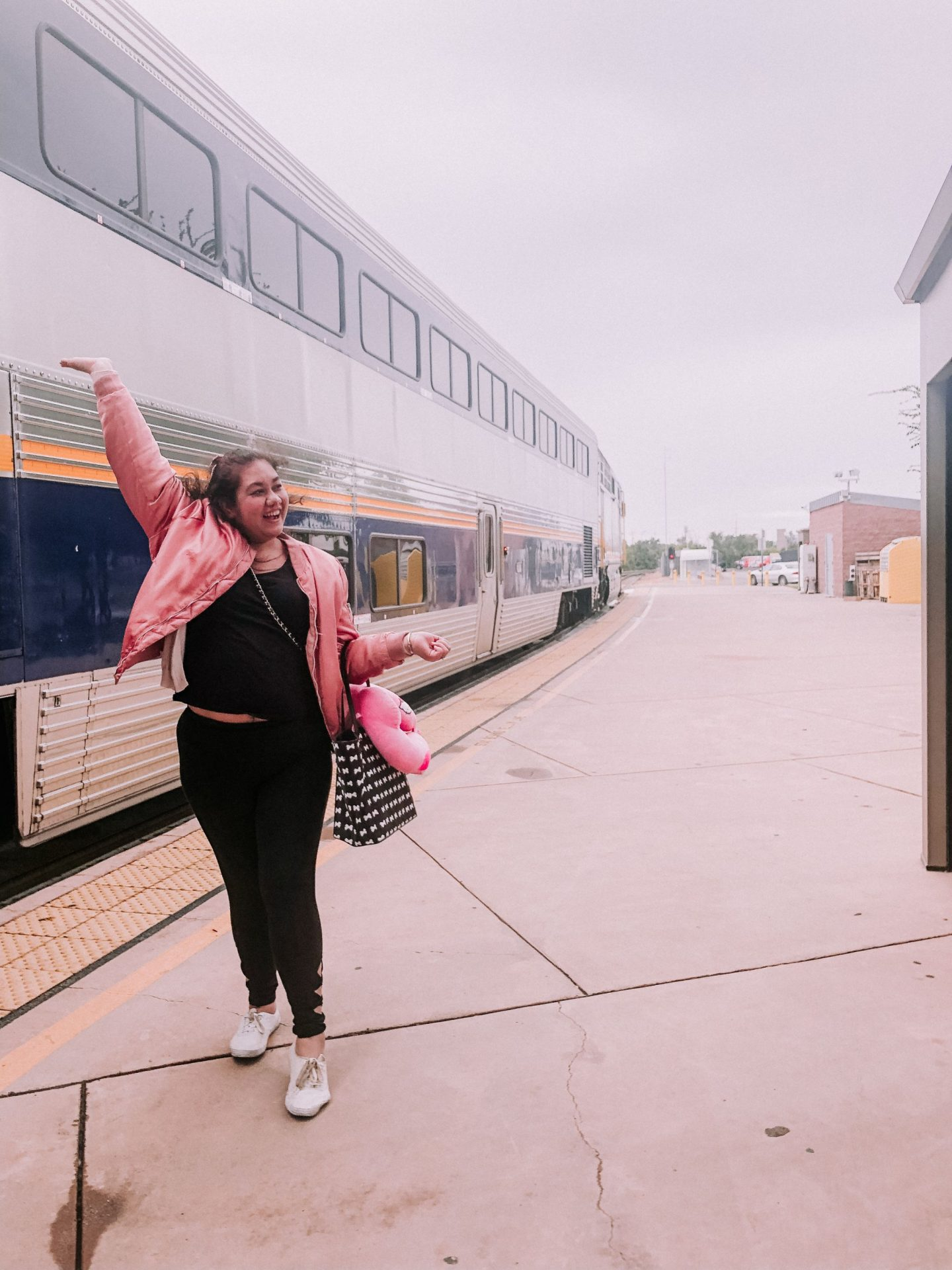What I Wore To Travel On A Train