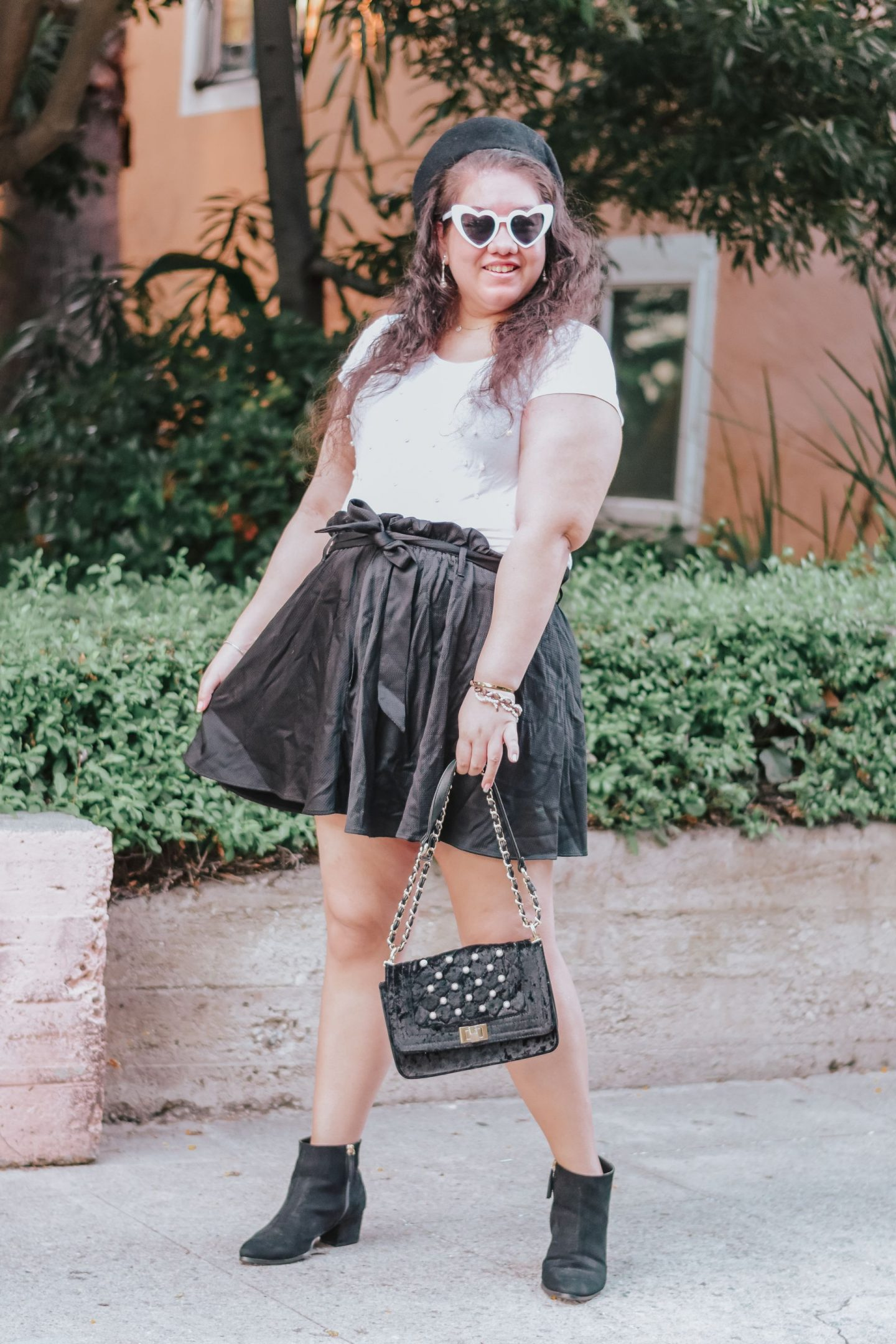A Parisian Chic Fall Transitional Outfit