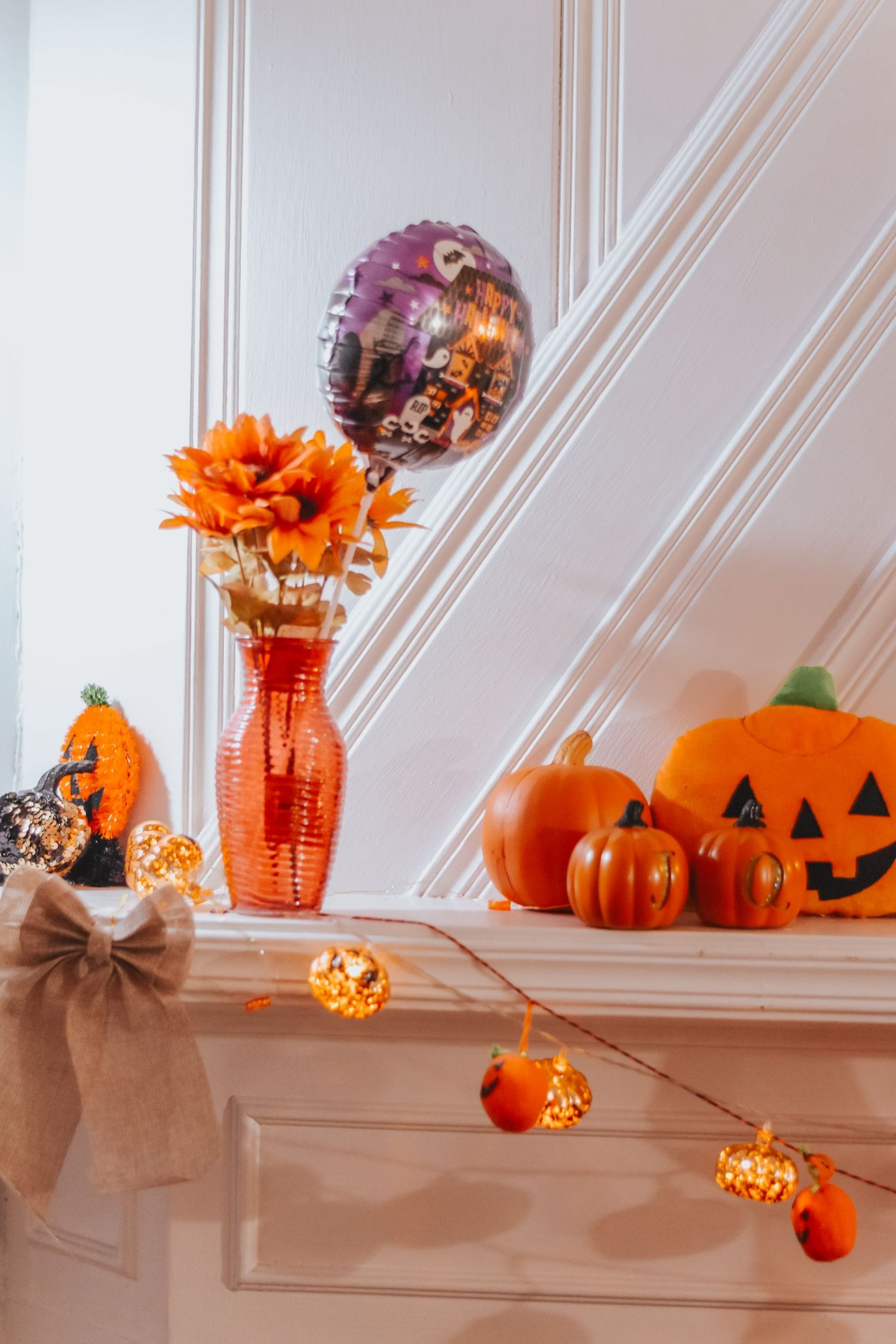 How I Decorated My Home For Fall on a Budget