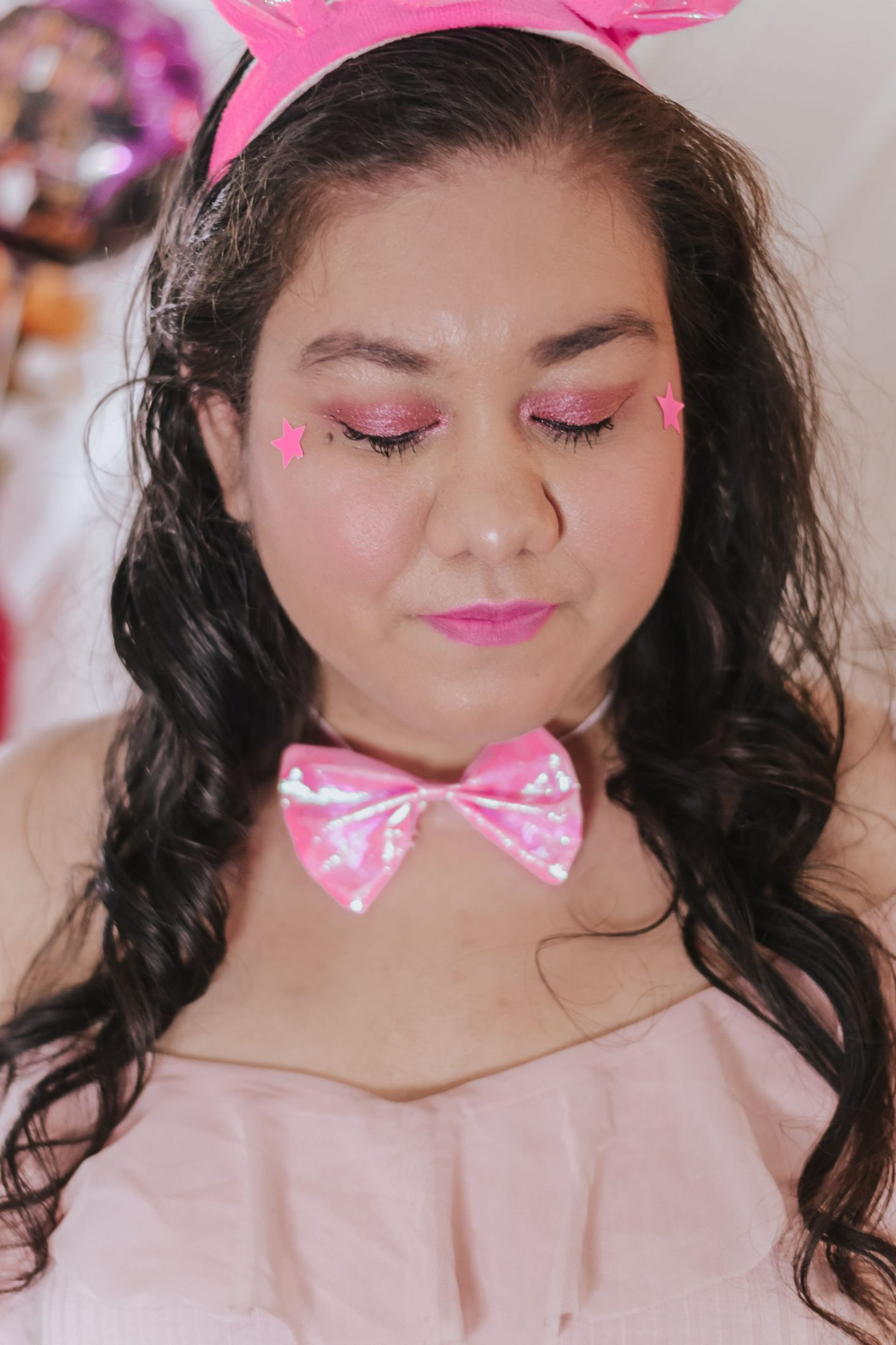 My Pink Unicorn Halloween Costume & Makeup