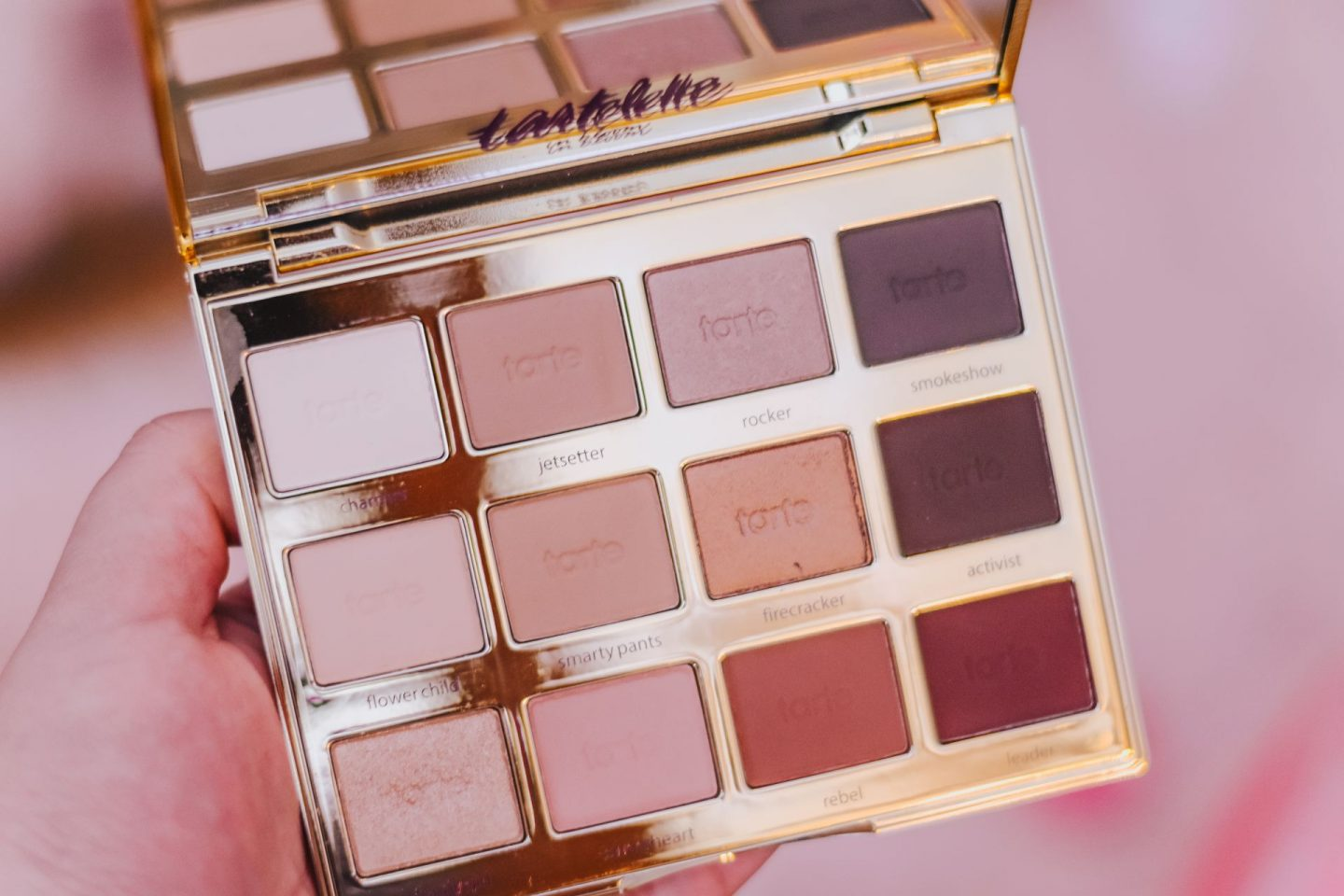 Fall Makeup Look With the Tartelette In Bloom Palette