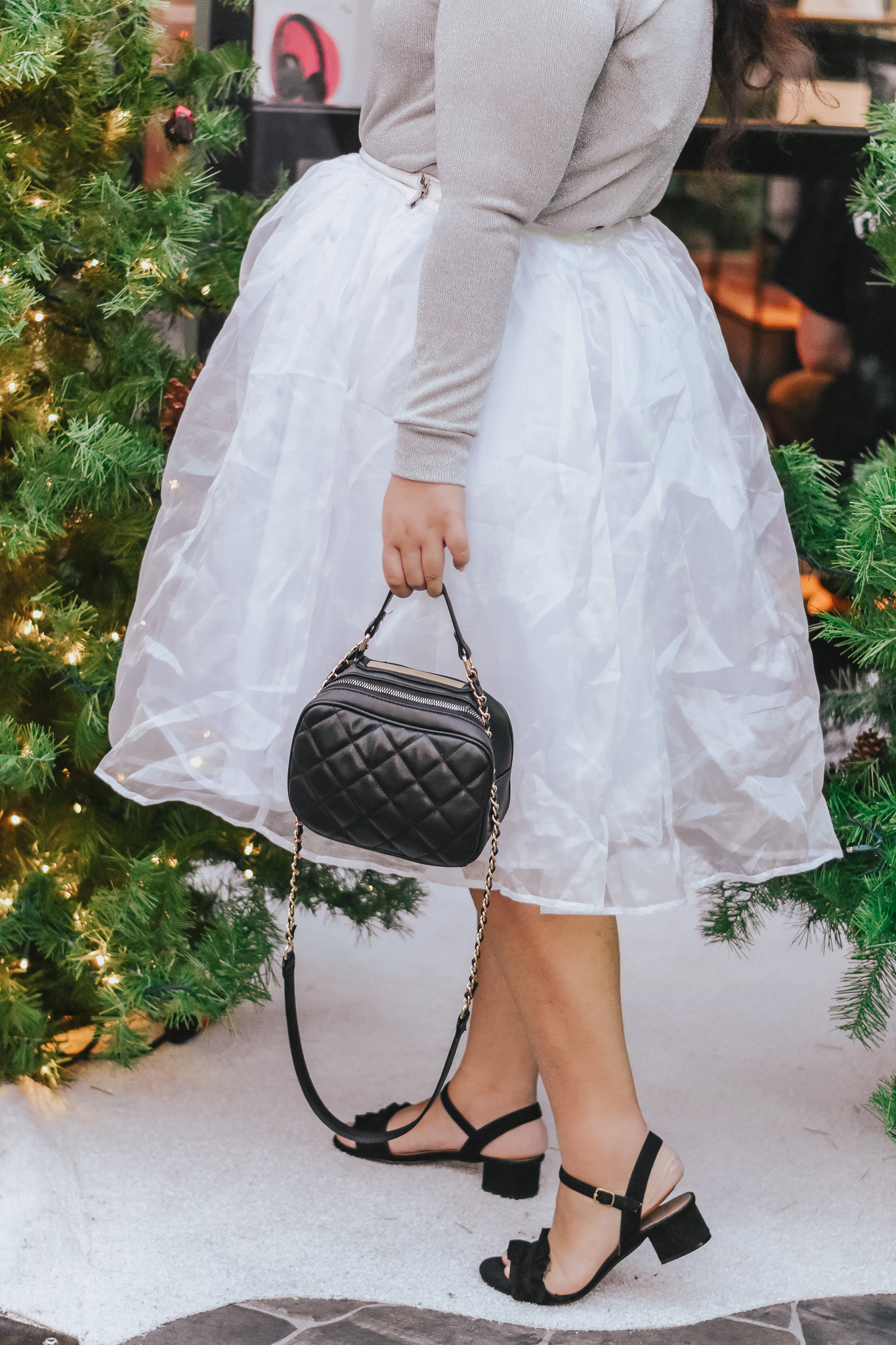An Extra Holiday Party Outfit Idea
