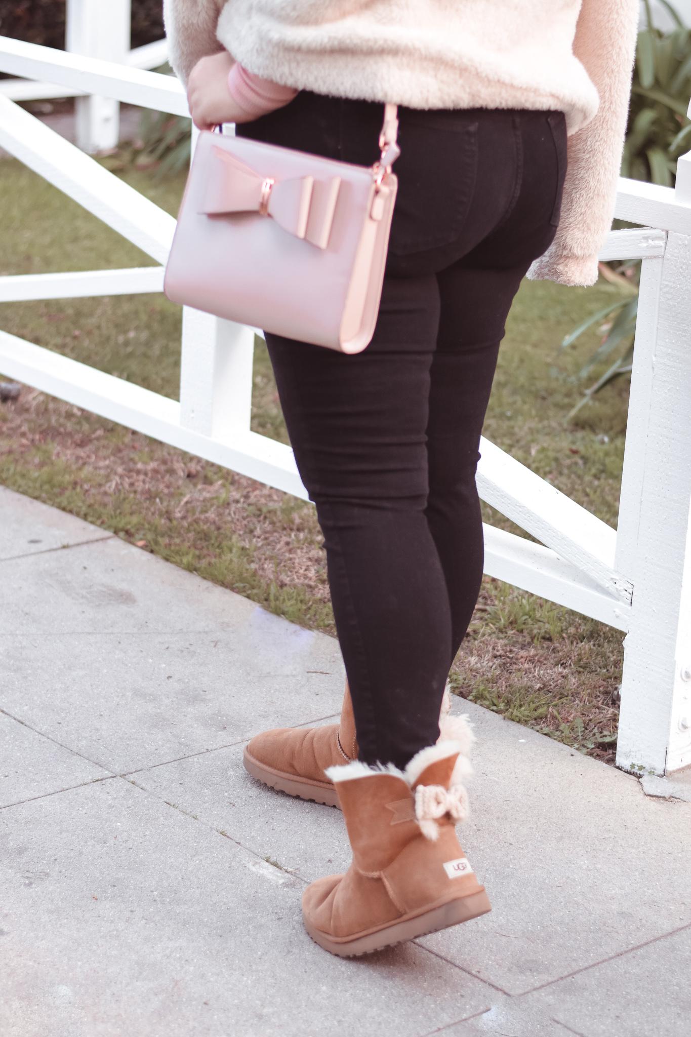 How I Wear Pink in Winter