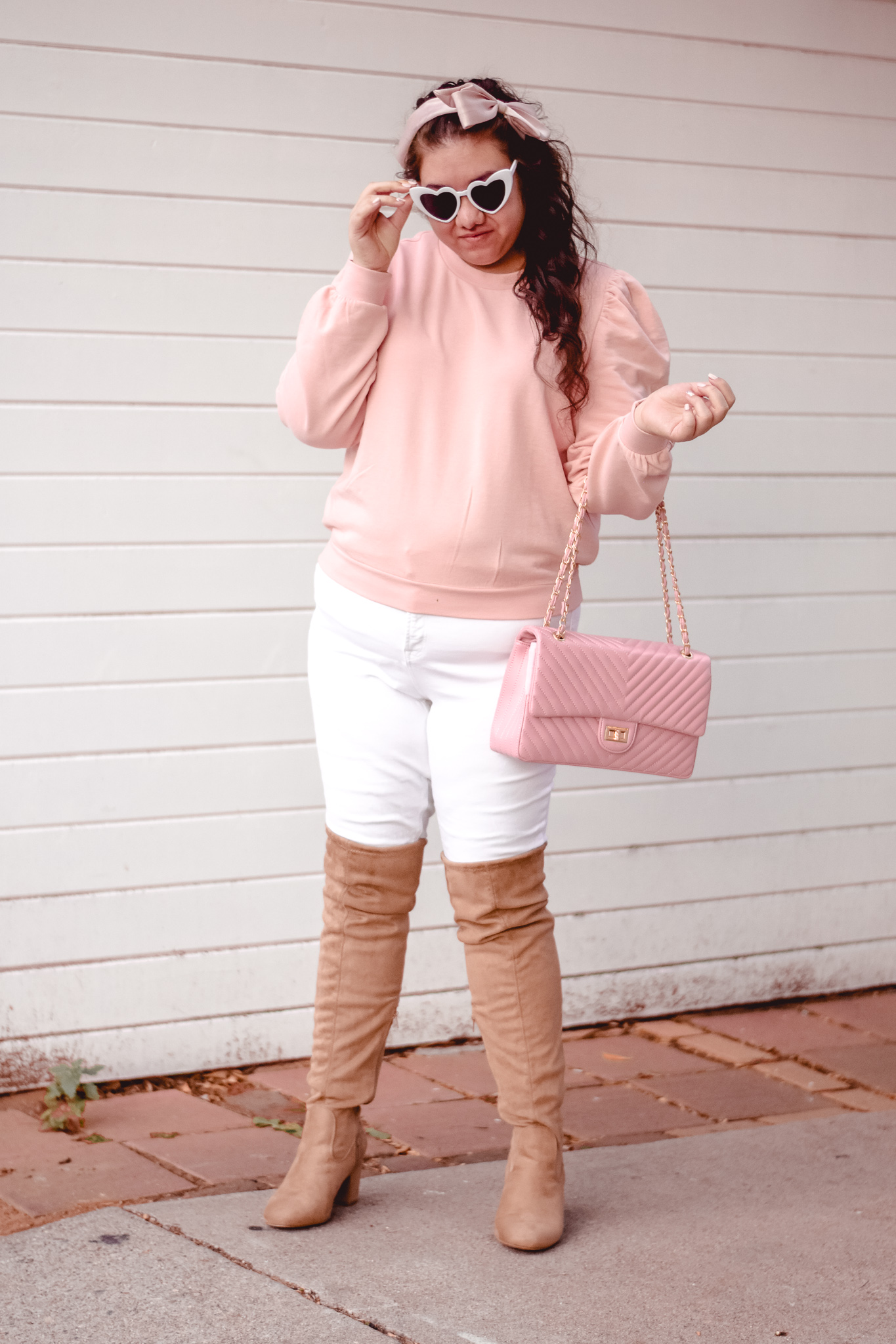 The Perfect Look to Transition into Spring