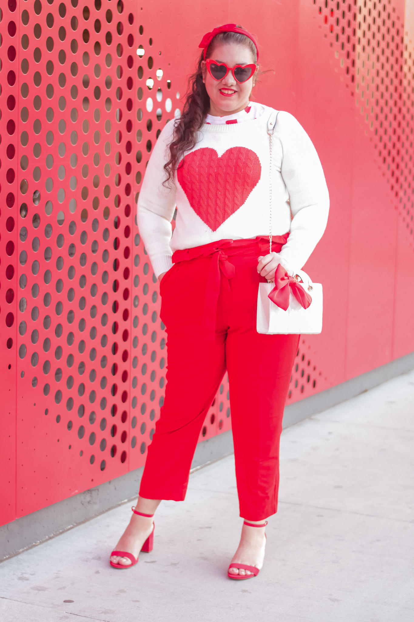 A Valentine's Day Themed Office Look