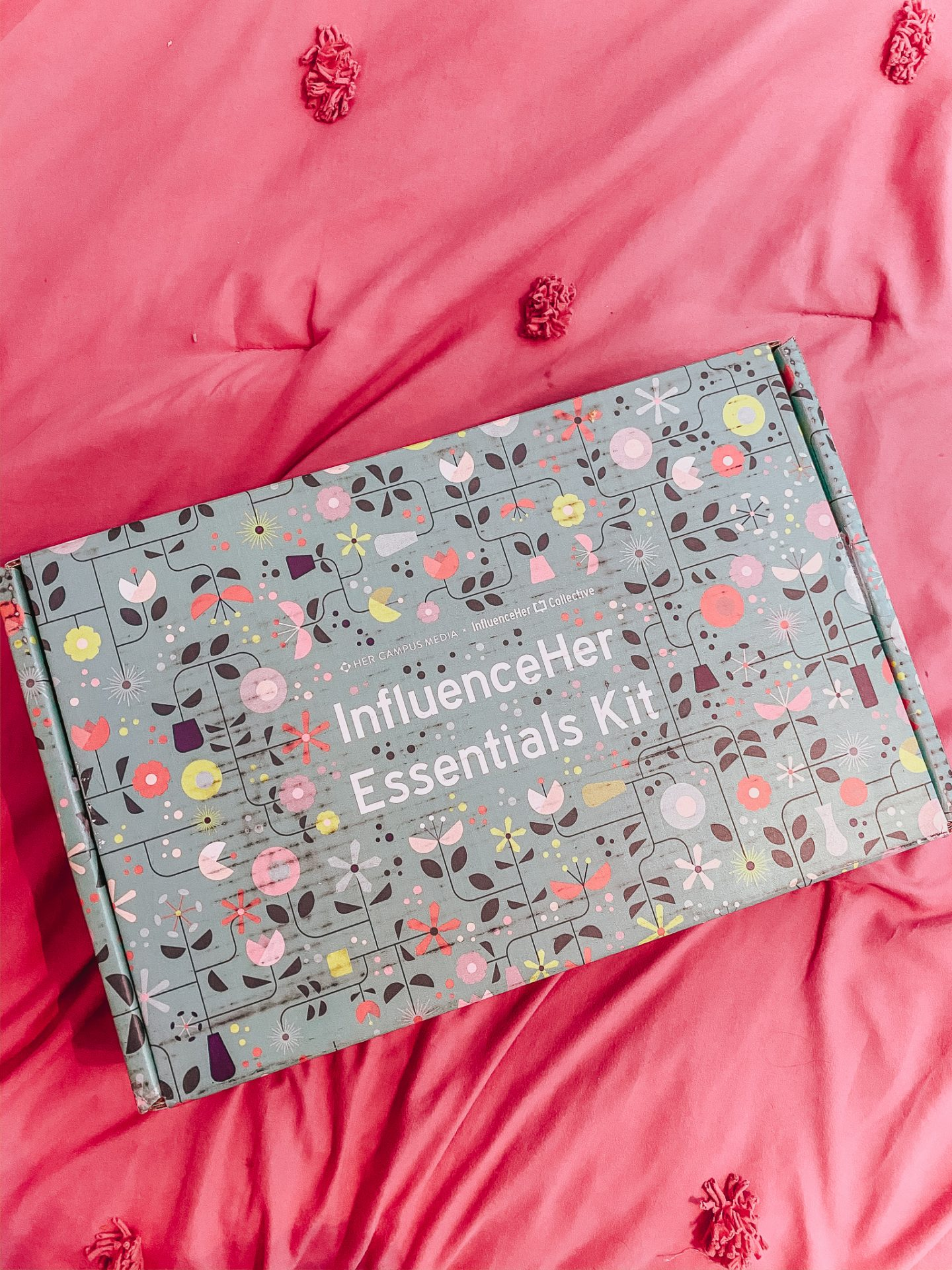 Unboxing the InfluenceHer Essential Kit For Spring