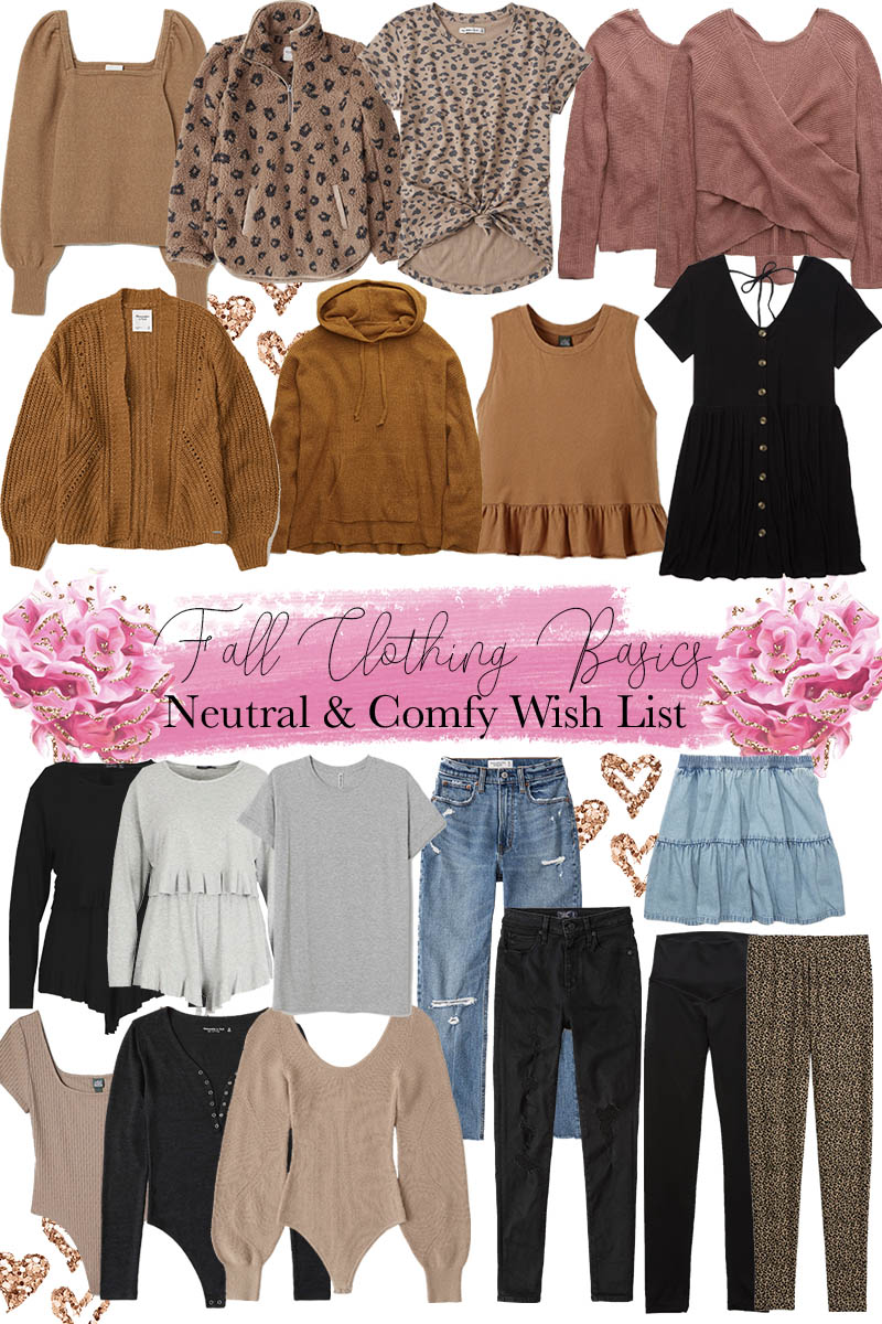 Fall Neutral Basics I Have My Eye On