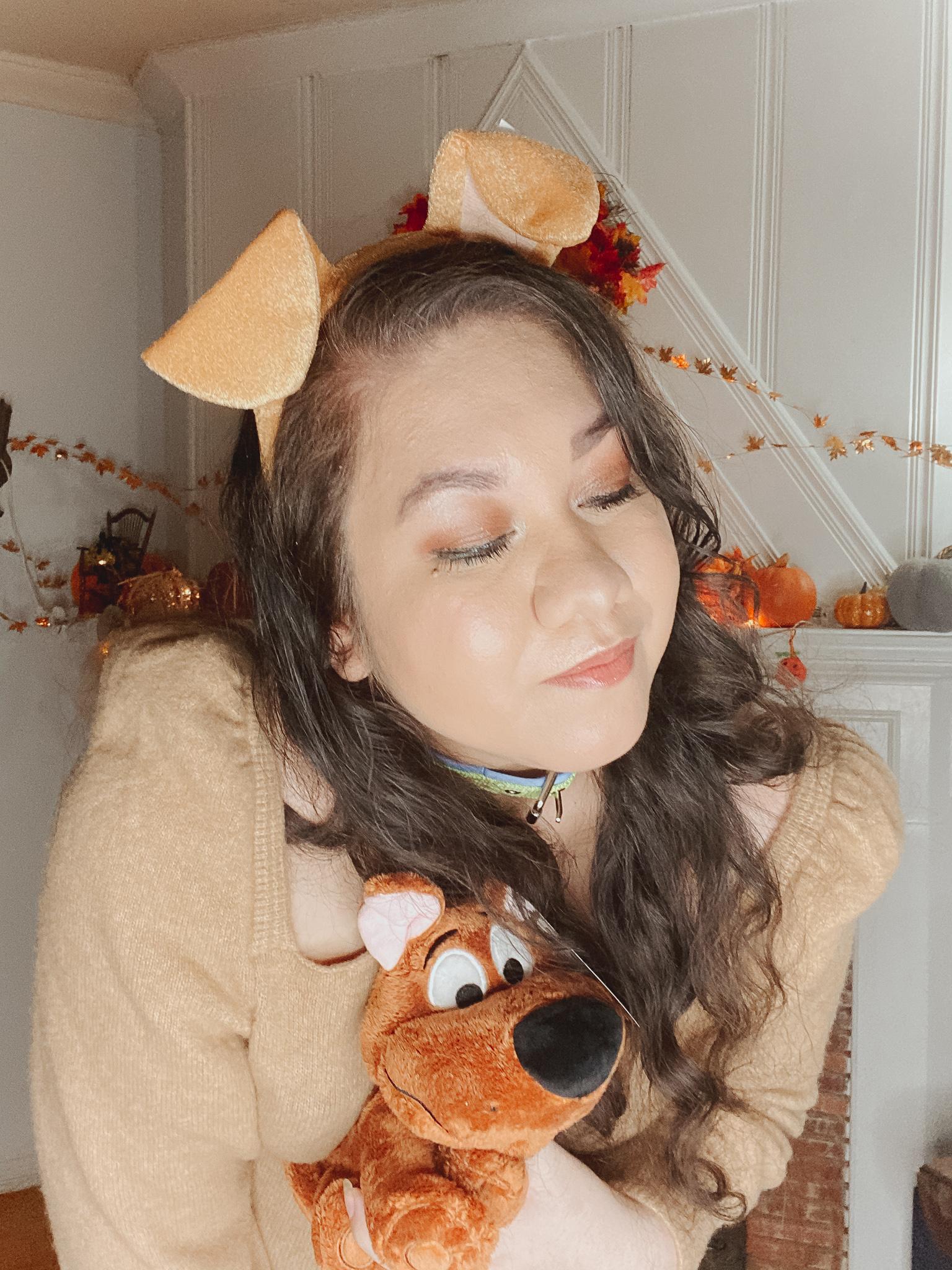 Scooby Doo Halloween Costume & Makeup