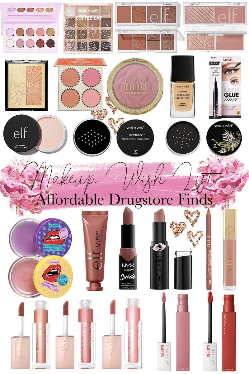 Affordable Drugstore Makeup I'm Buying