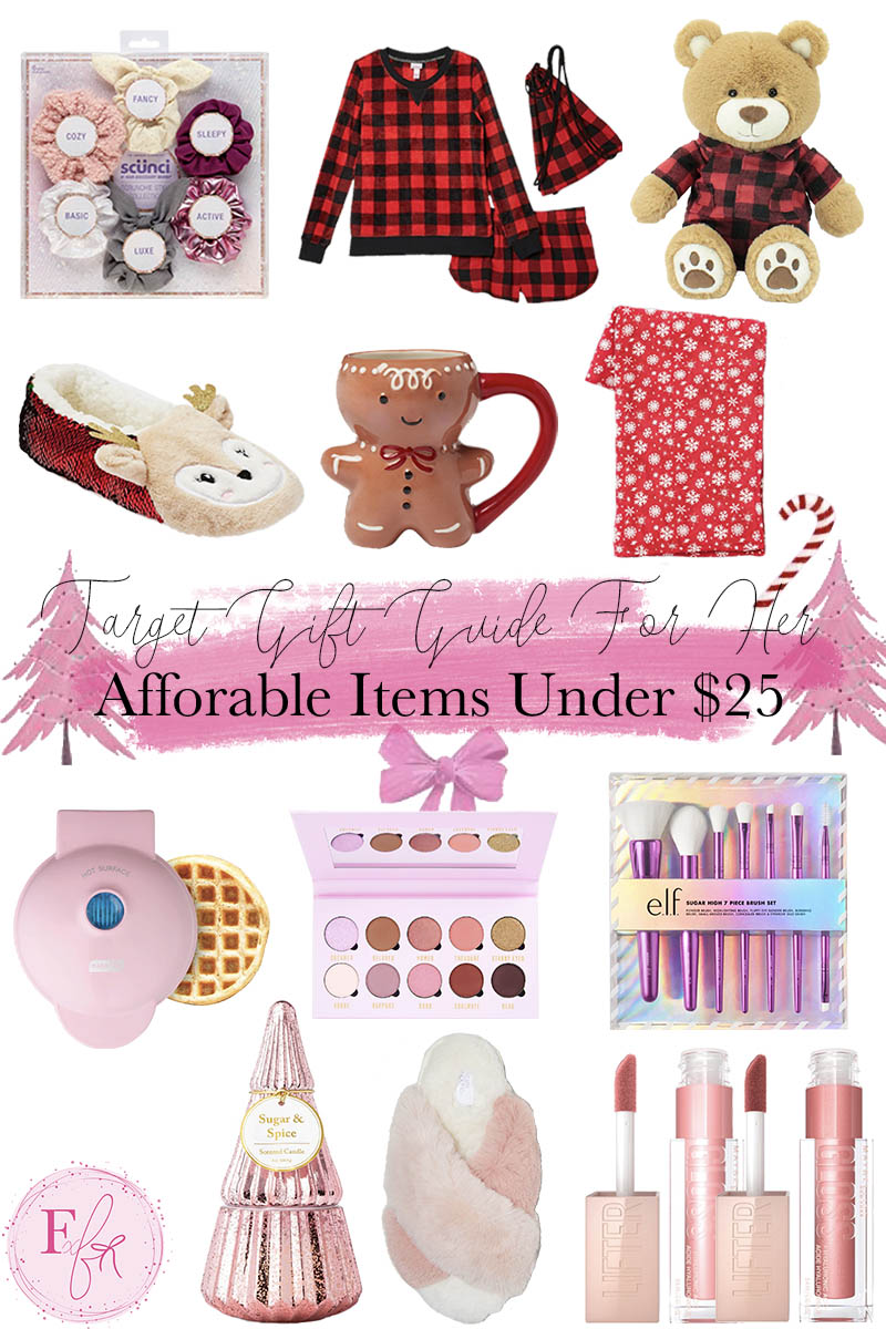 Target Gift Guide for Her Under $25