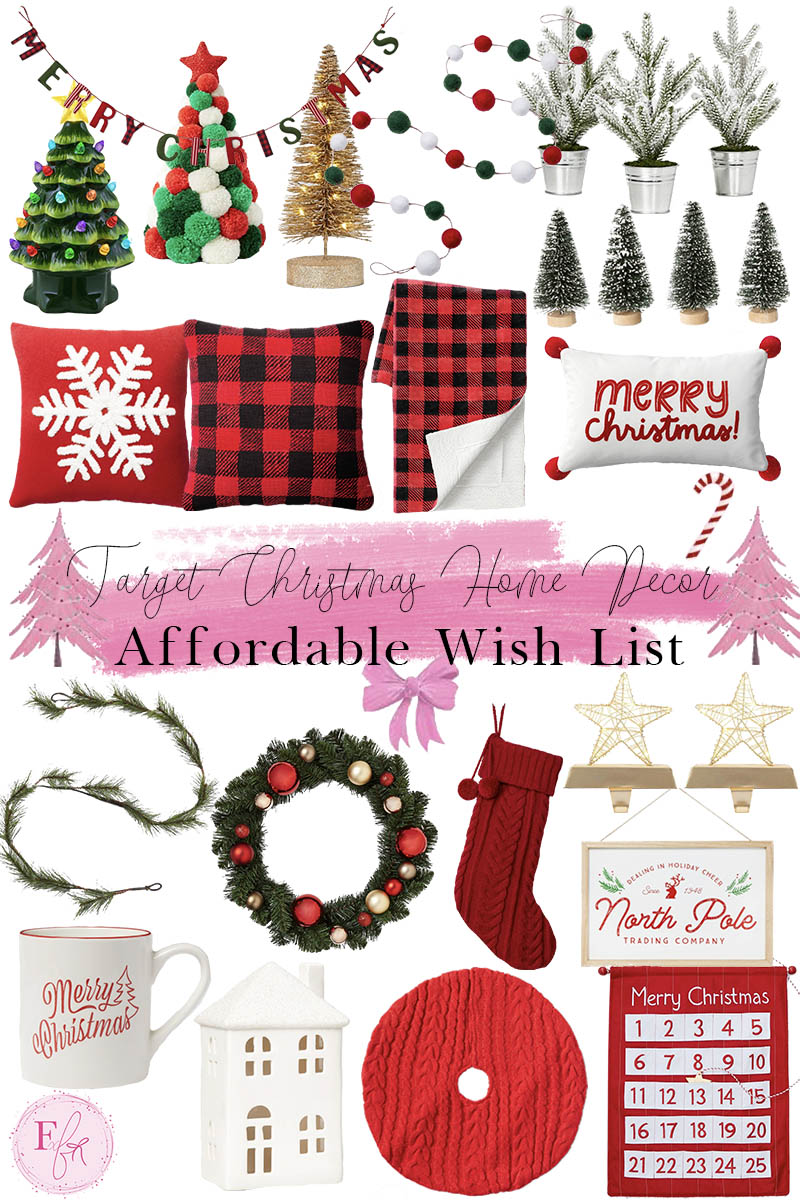 Target Christmas Home Decor Wish List