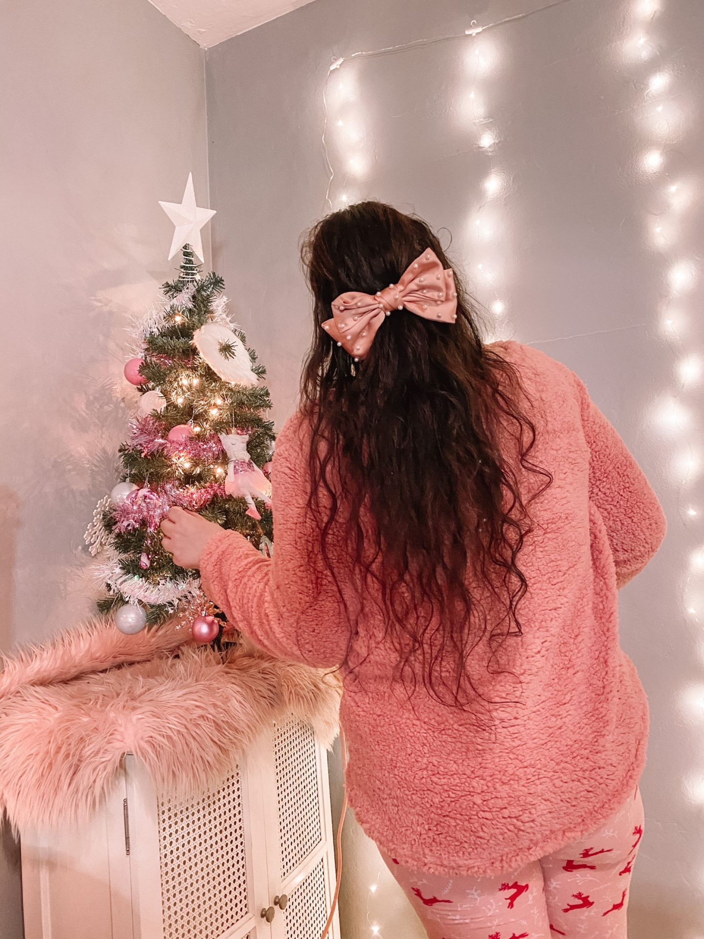 My Pink & Girly Bedroom For Christmas