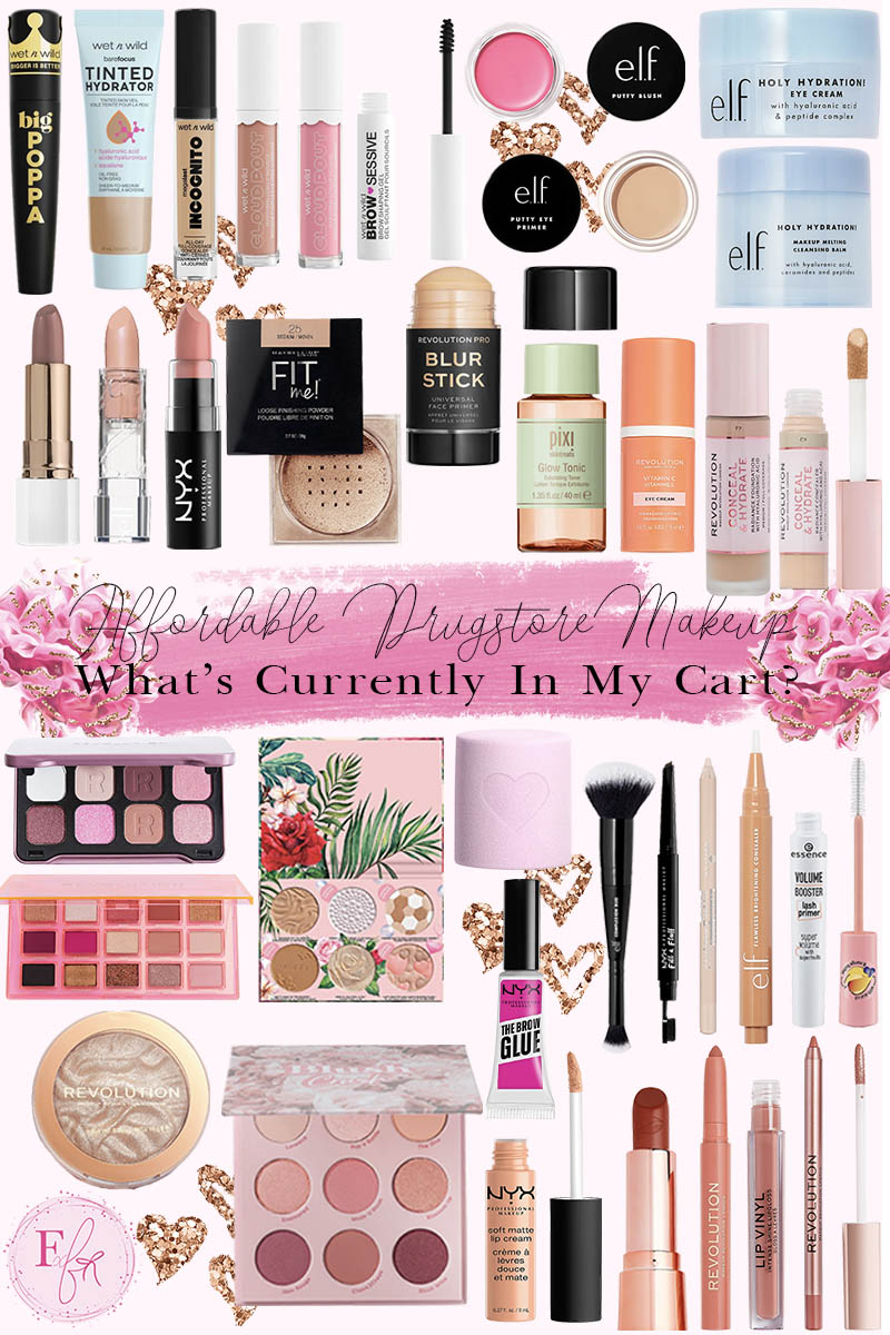 Affordable Drugstore Makeup In My Cart
