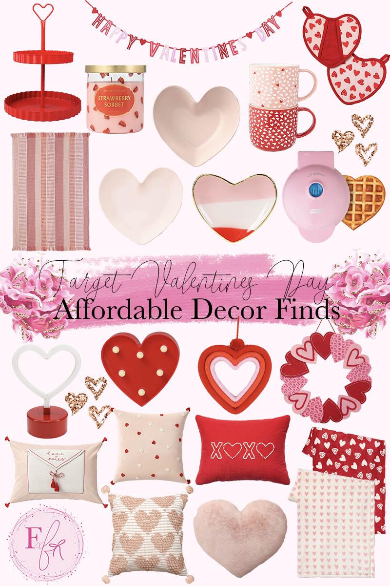 Target Valentine's Day Home Decor Wish List