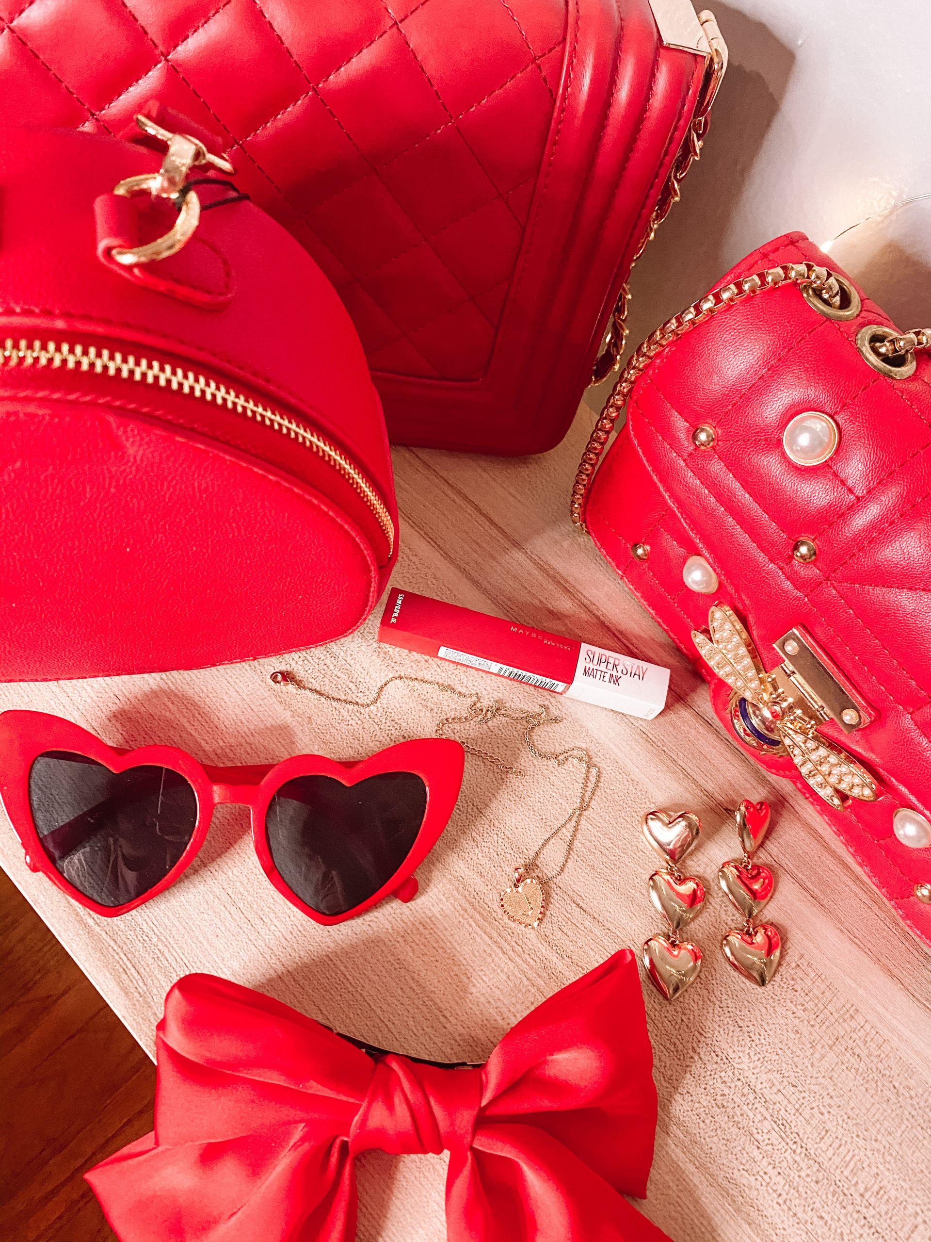 Red Valentine's Day Accessories I Love