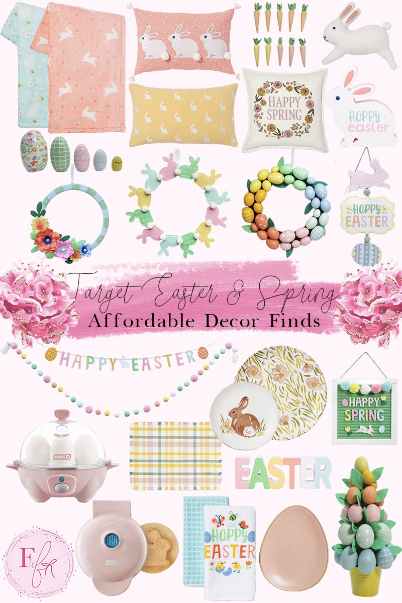 Target Easter Home Decor Wish List