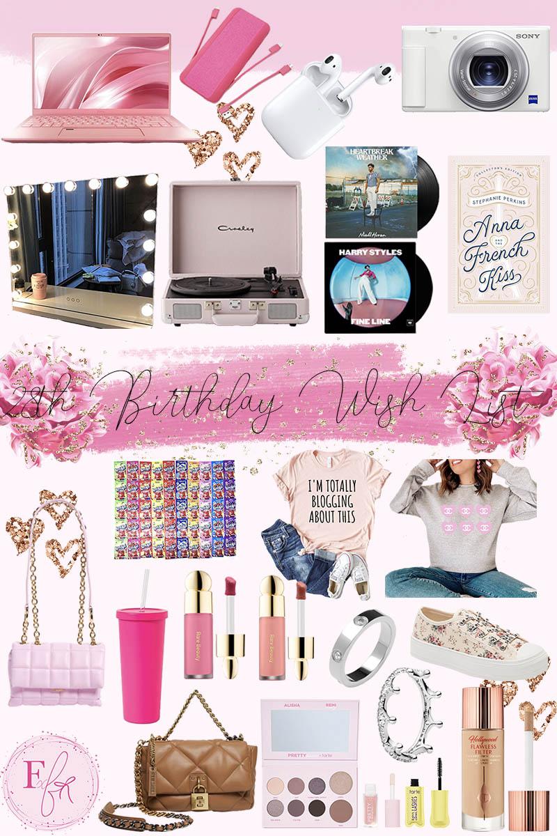 My 28th Birthday Wish List 2021