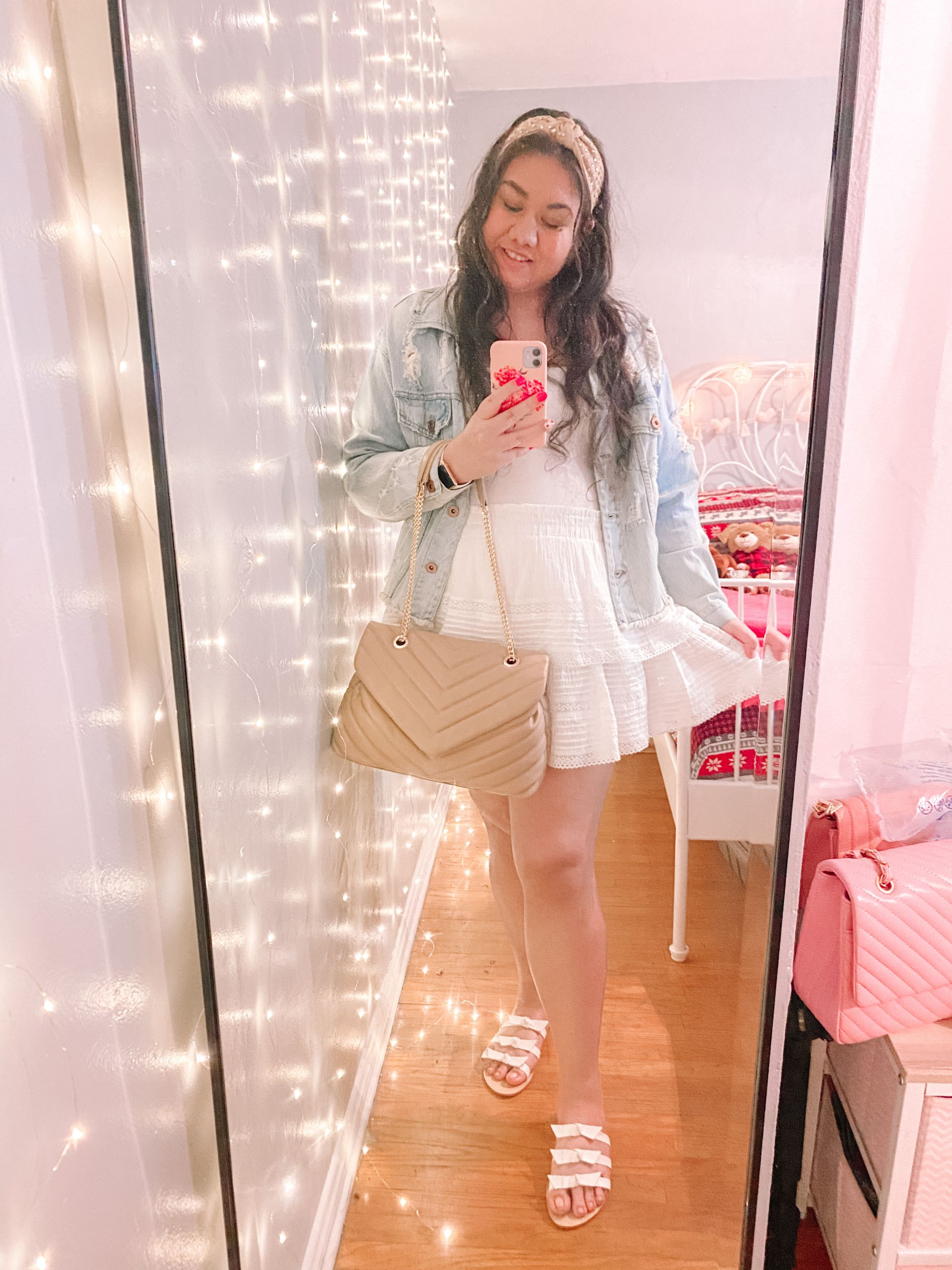 3 Ways To Style a White Skirt For Spring