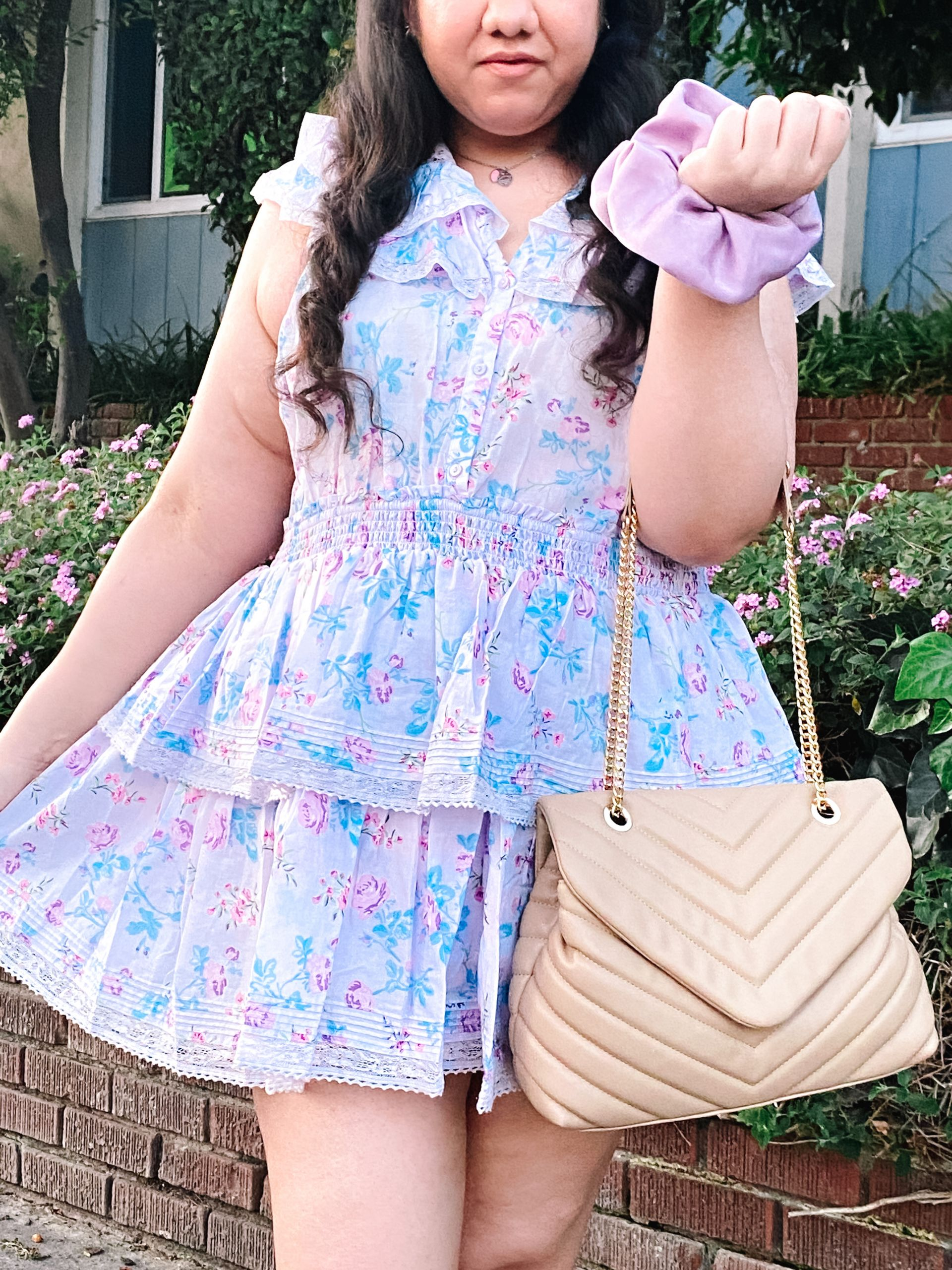 Pastel Spring Dress I Wore on Easter