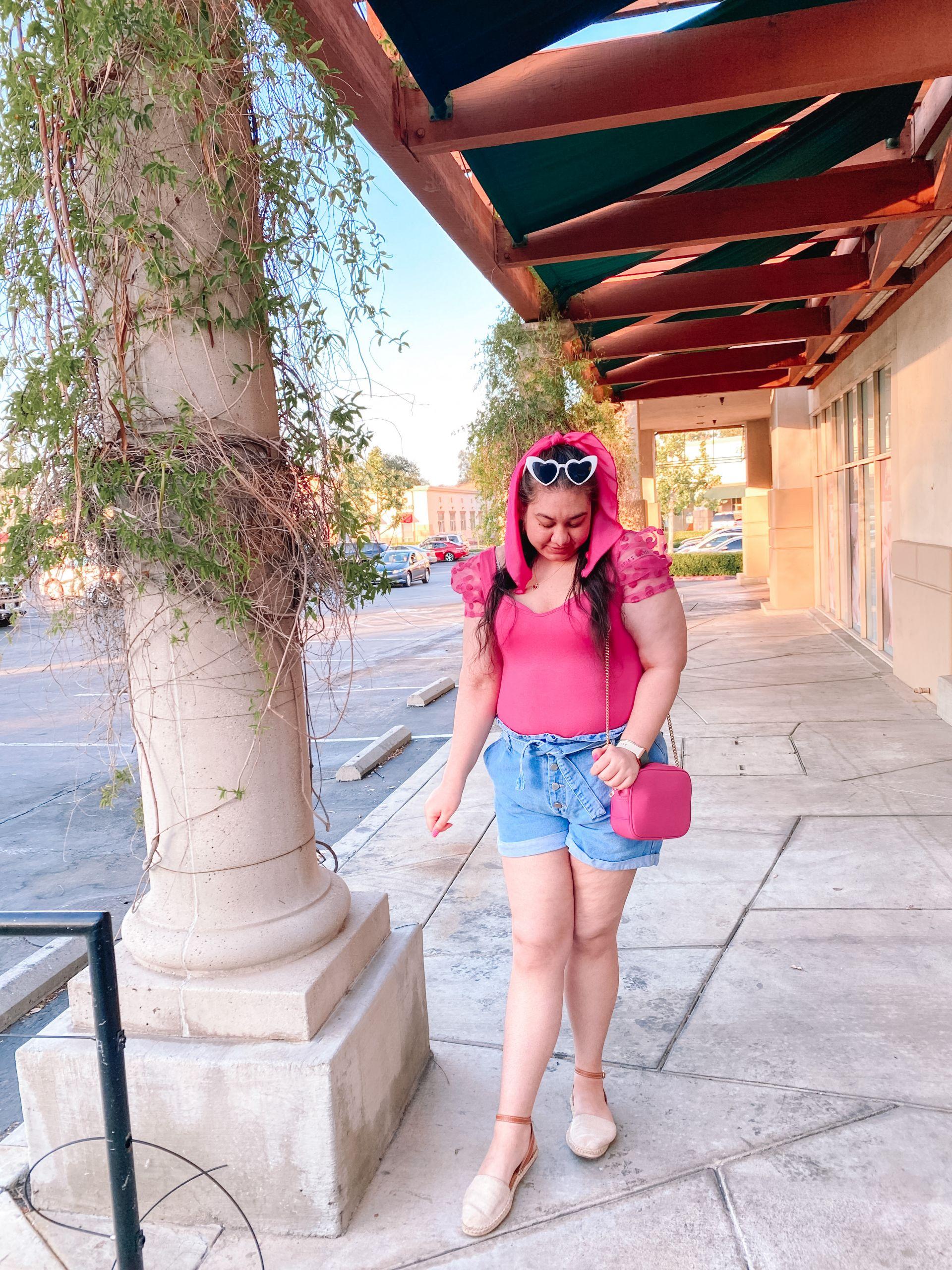 The Cutest Paper Bag Denim Shorts For Summer