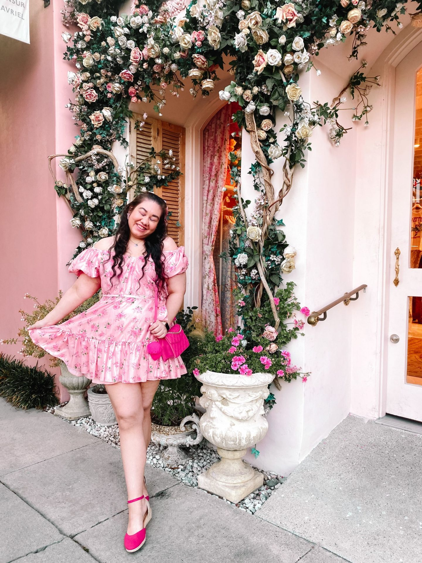 Styling The Most Girly Floral Dress