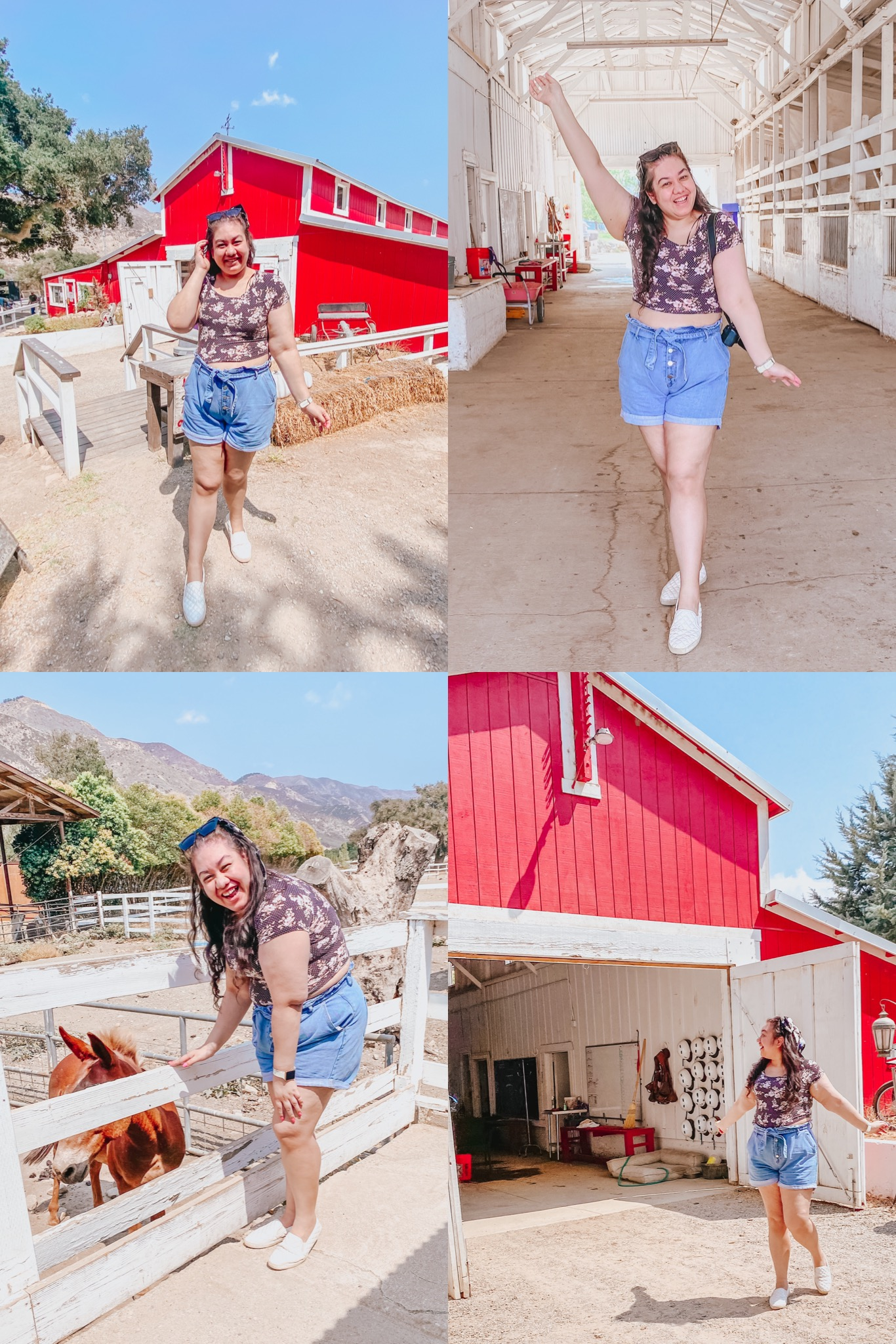The Outfit I Wore For a Day At a Ranch